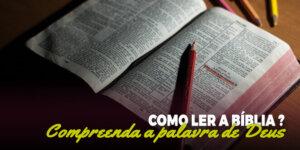 Compreenda a palavra de Deus.
