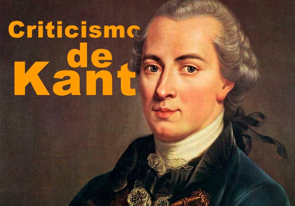 Criticismo e Kant
